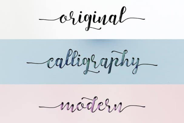 Download Strengthen Script font (typeface)