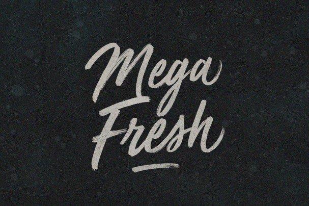 Download Mega Fresh font (typeface)