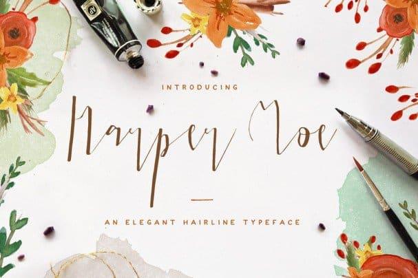 Download Harper Moe font (typeface)