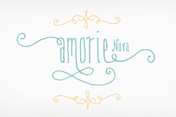 Download Amorie Nova Family font (typeface)