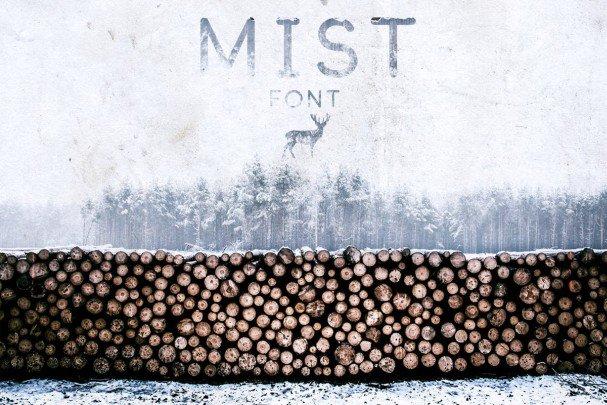Download Mist Font font (typeface)