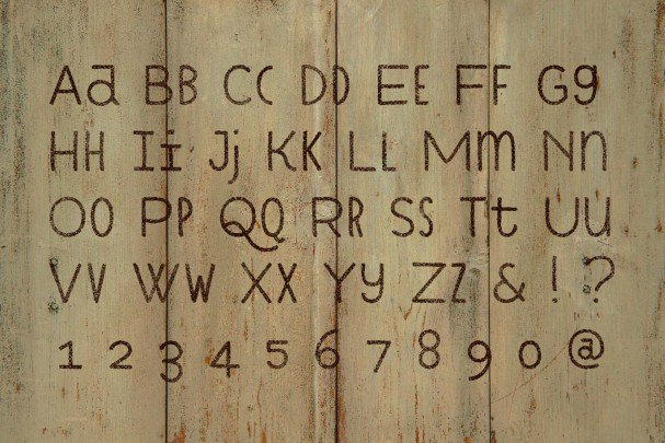 Download Cuciniere font font (typeface)