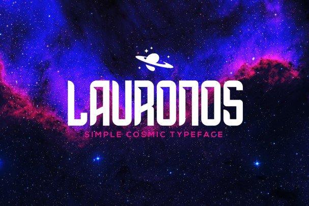 Download Lauronos typeface font (typeface)