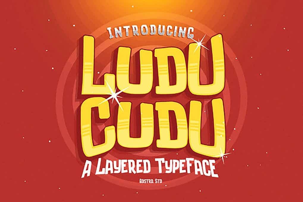 Download Ludu Cudu font (typeface)