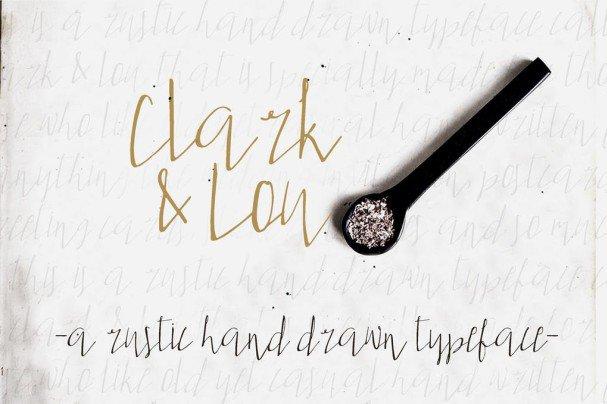 Download Clark & Lou font (typeface)