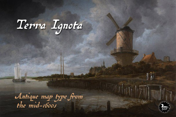 Download Terra Ignota font (typeface)