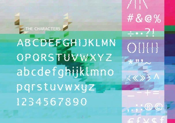 Download Lucy Glitch font (typeface)