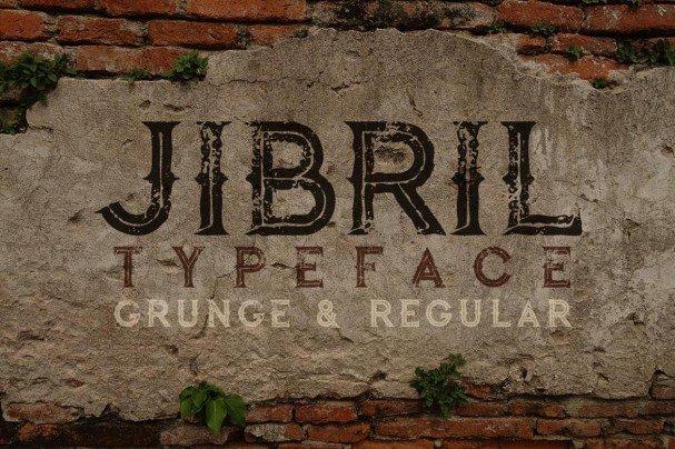 Download Jibril - Vintage Style font (typeface)