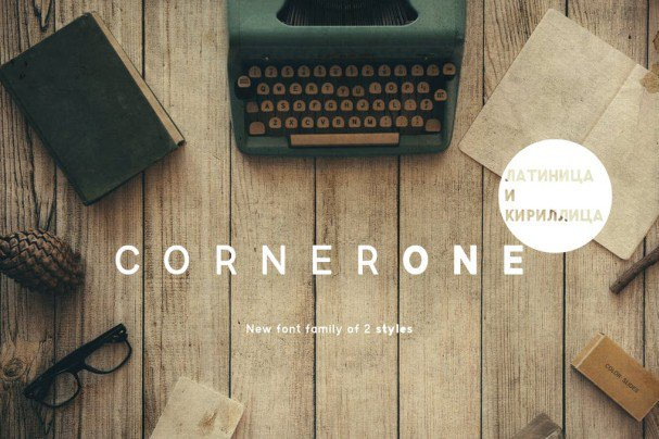 Download Corner One Typeface font (typeface)