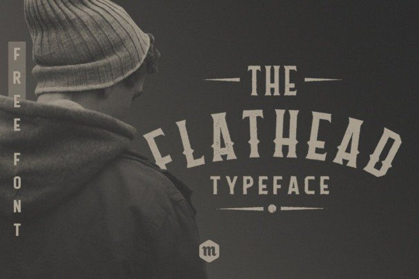 Download Flathead Typeface font (typeface)