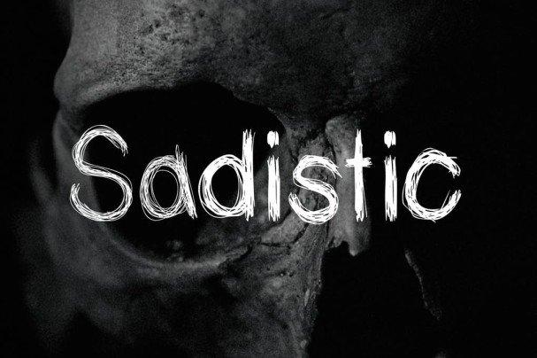 Download Sadistic font (typeface)
