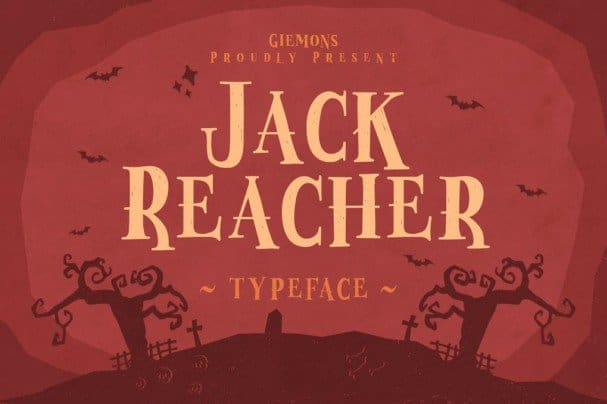 Download Jack Reacher Typeface font (typeface)