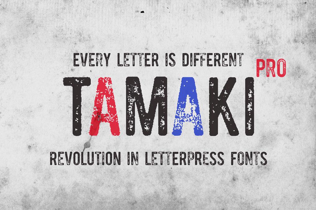 Download Tamaki-Pro font (typeface)