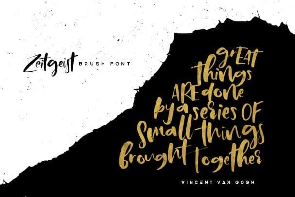 Download Zeitgeist font (typeface)
