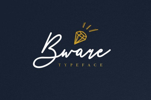 Download Bware Typeface font (typeface)
