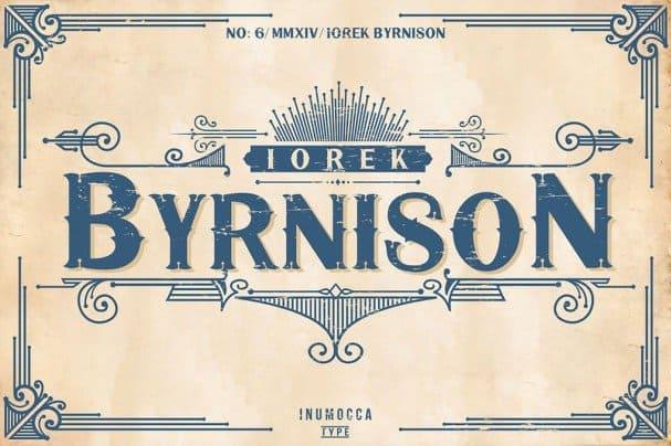 Download Iorek Byrnison font (typeface)