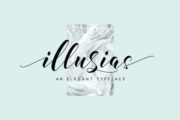 Download Illusias font (typeface)