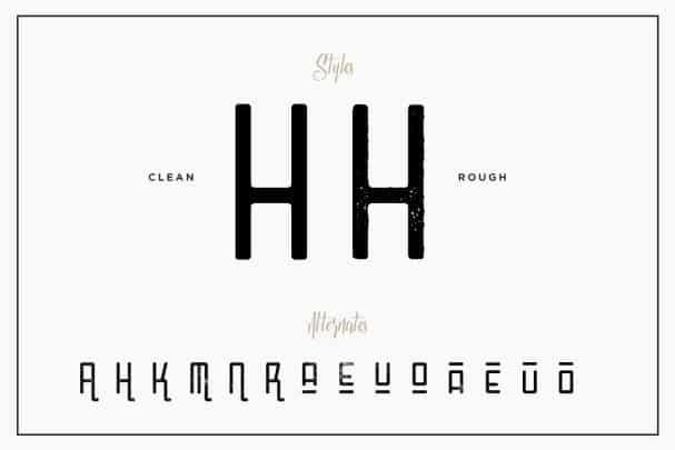 Download Mangano font (typeface)