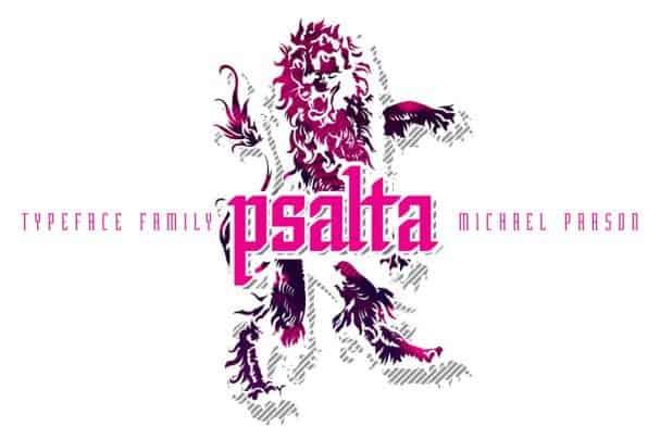 Download Psalta font (typeface)