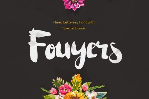 Download Fouyers font (typeface)