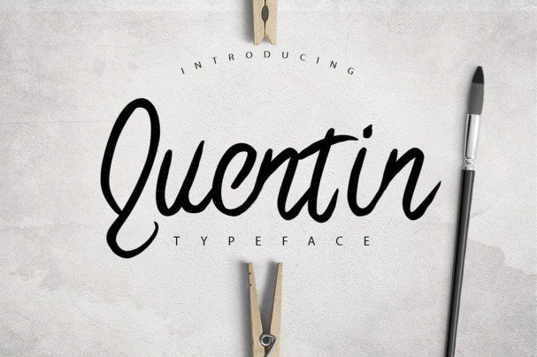 Download Quentin Typeface font (typeface)
