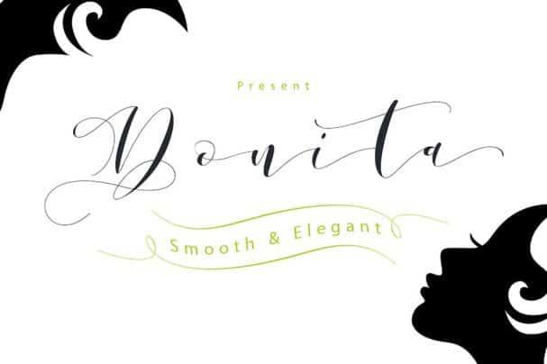 Download Donita Script font (typeface)