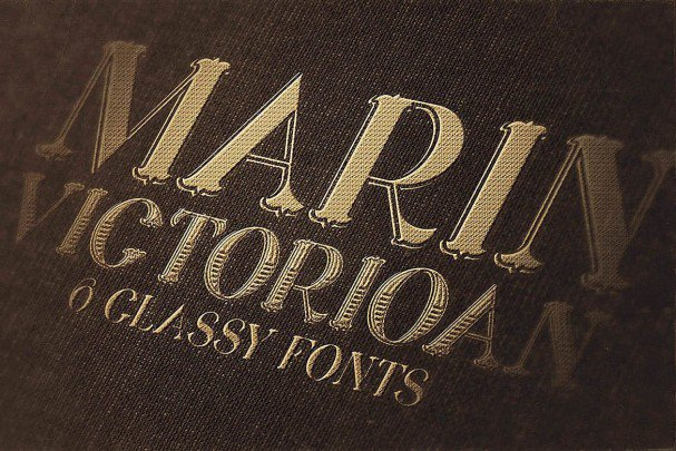 Download Marin - Victorian Font font (typeface)