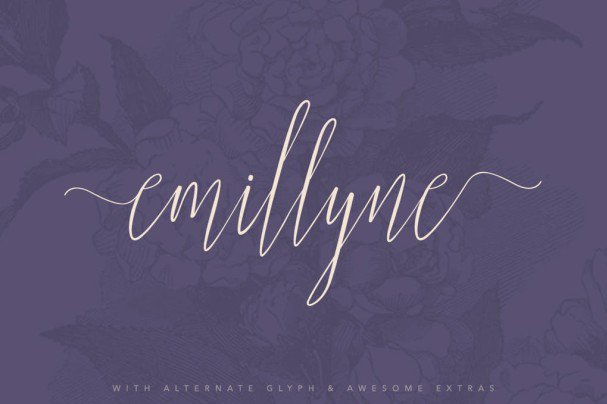 Download Emillyne font (typeface)