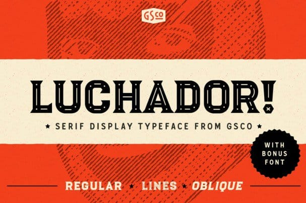 Download Luchador font (typeface)