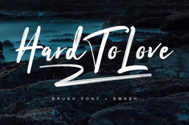 Download Hard To Love Typeface font (typeface)