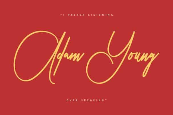 Download Peter Jhons Signature font (typeface)