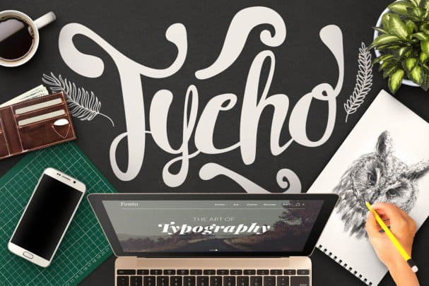 Download Tycho Typeface font (typeface)