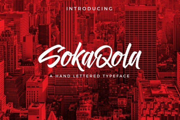 Download SokaQola Font font (typeface)