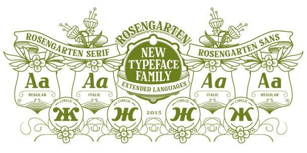 Download Rosengarten font (typeface)