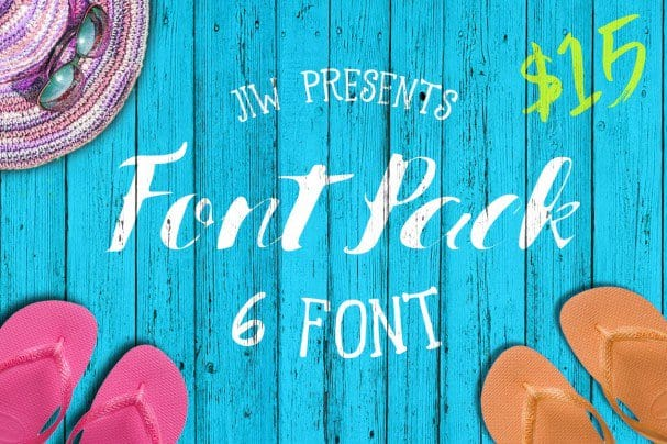 Download SUMMER - PACK font (typeface)