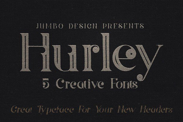 Download Hurley - Vintage Style font (typeface)