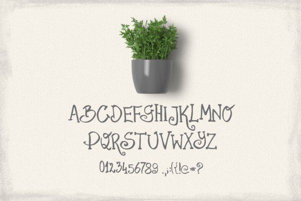 Download Parsley Font font (typeface)