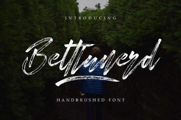 Download Bettlunerd font (typeface)