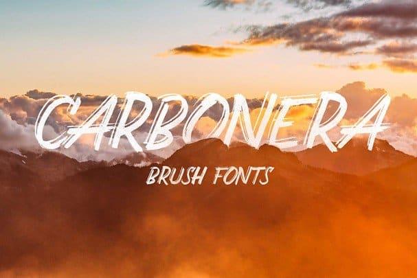 Download Carbonera font (typeface)
