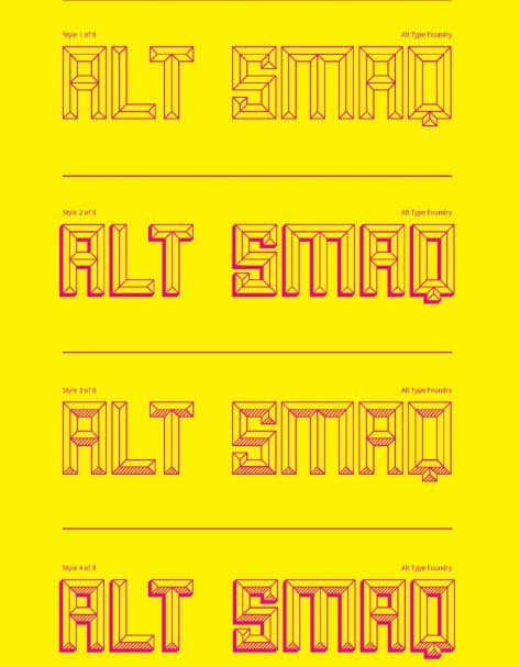 Download Smaq font (typeface)