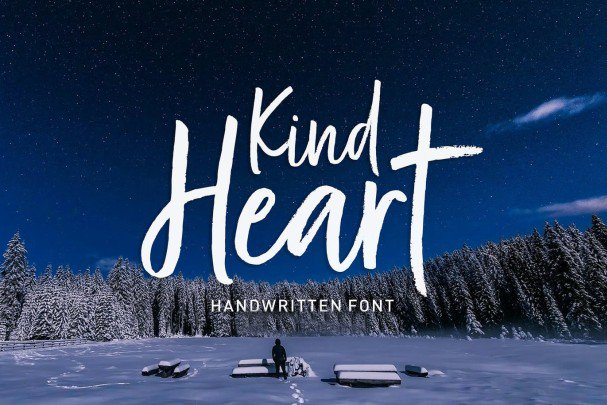 Download Kind Heart Font Duo font (typeface)