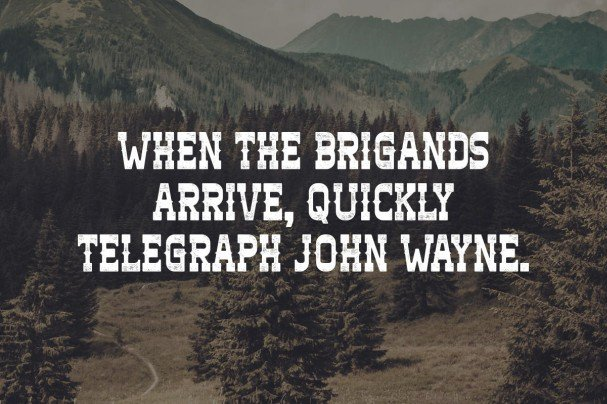Download Brigand font (typeface)