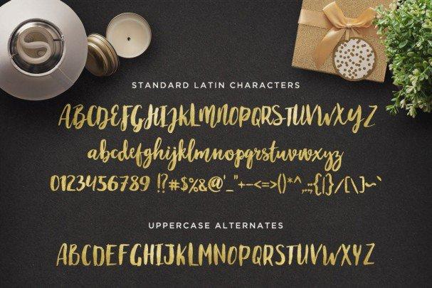 Download Maloishe Brush Script Font font (typeface)