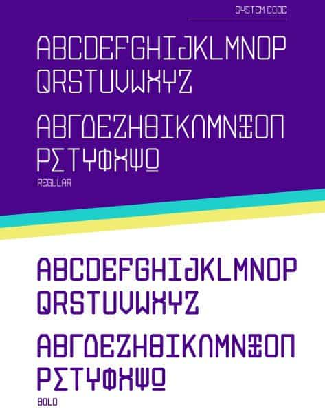 Download System Code font (typeface)