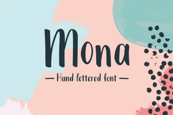 Download Mona Extended Font font (typeface)