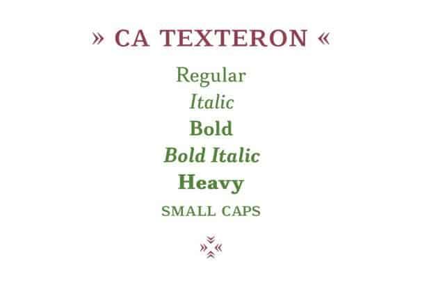 Download CA Texteron font (typeface)