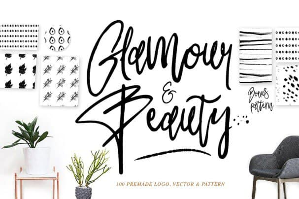 Download Glamour font (typeface)