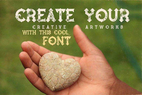 Download Blue North - Vintage Style font (typeface)
