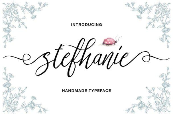 Download Stefhanie Typeface font (typeface)