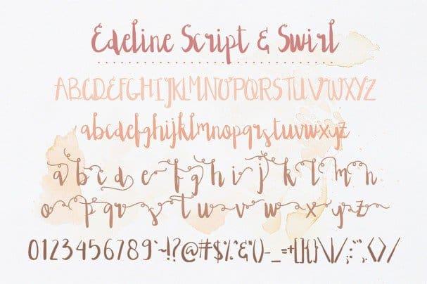 Download Edeline font (typeface)